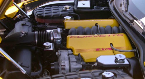 image of Chevrolet Corvette engine