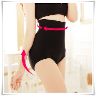 Merampingkan pinggang, punggung dan perut - Panties Japan High Waist Hip Up Shorts