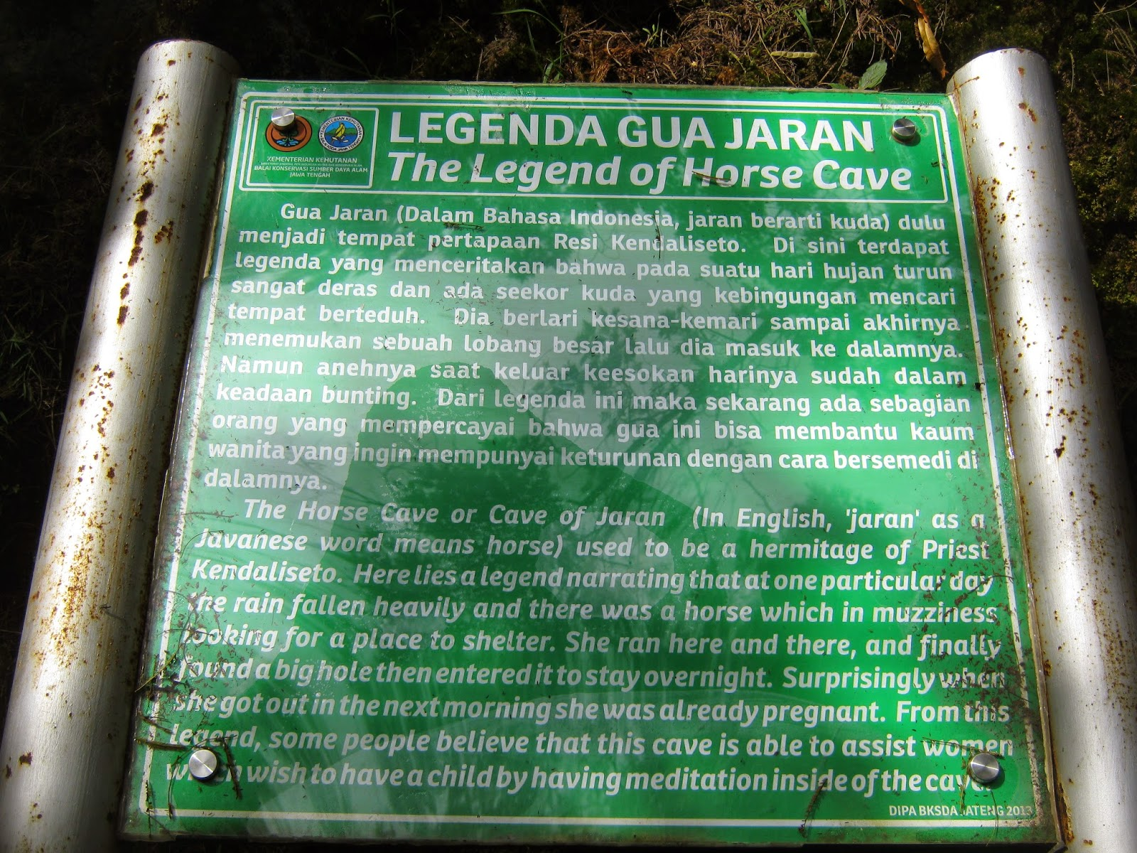Legenda dan sejarah goa jaran