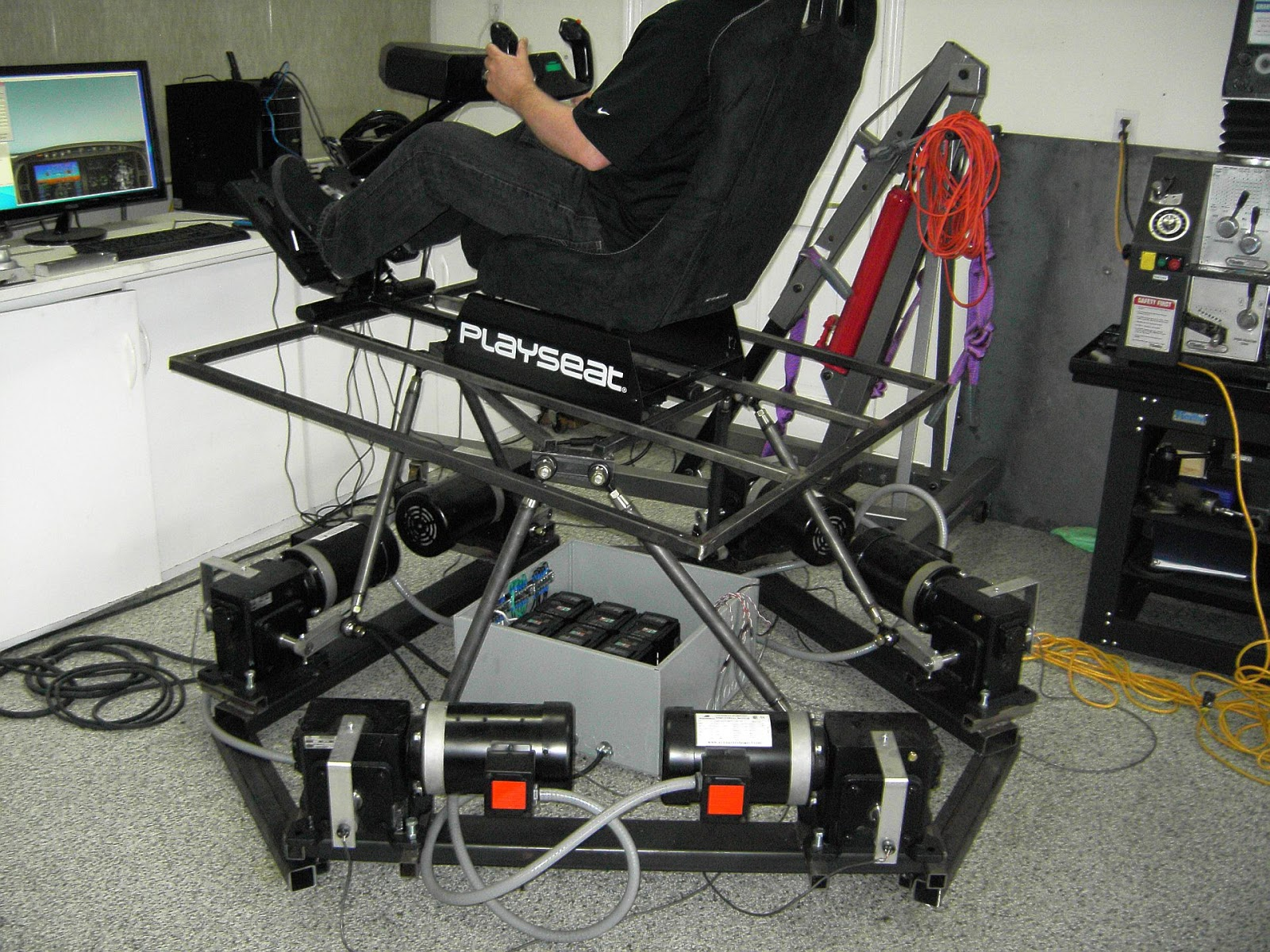 Thanos 6dof Motion Simulator Electronics Some Photos Of