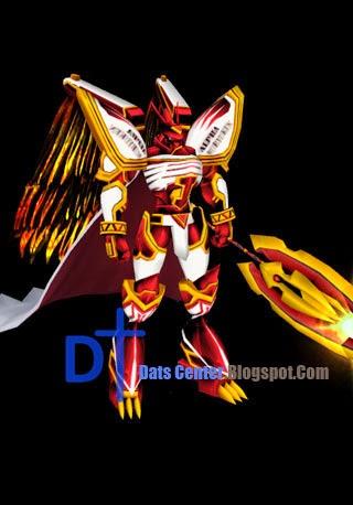 Digimon Master Online: Alphamon Rakaruan Mode Skin DMO