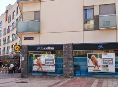 Las tablas digital caixabank ocupa la sucursal de for Barclays oficinas madrid