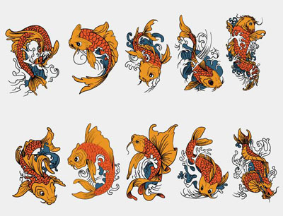 koi fish tattoo photos