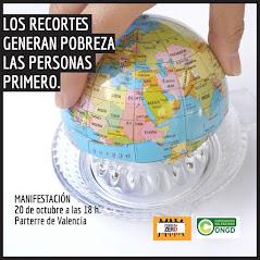 LOS RECORTES GENERAN POBREZA. LAS PERSONAS PRIMERO