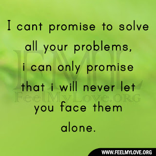 I cant promise to solve all your problems