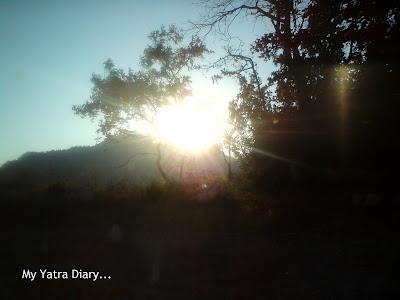 Sunshine Garhwal Himalayas