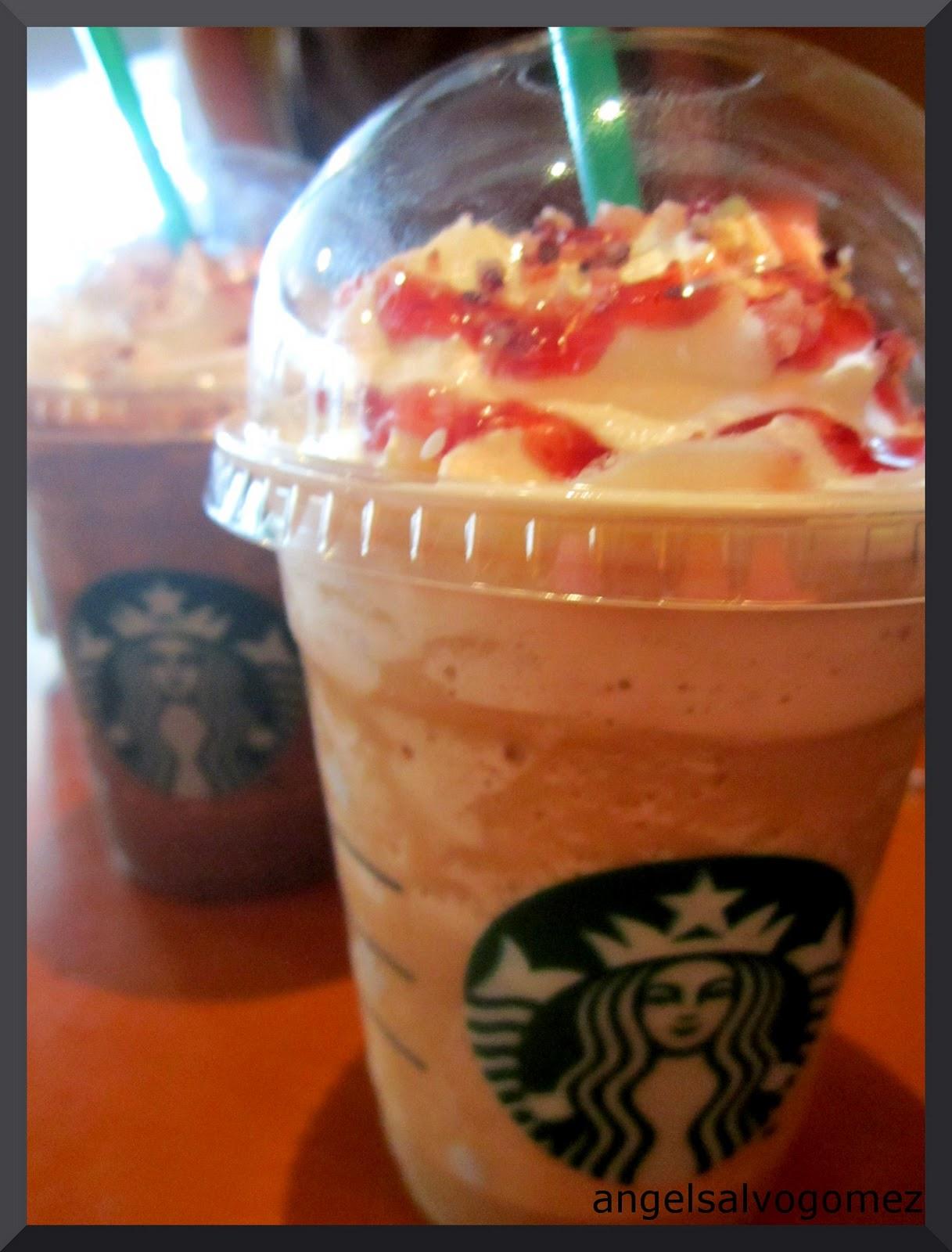 Starbucks Cranberry White Chocolate Mocha