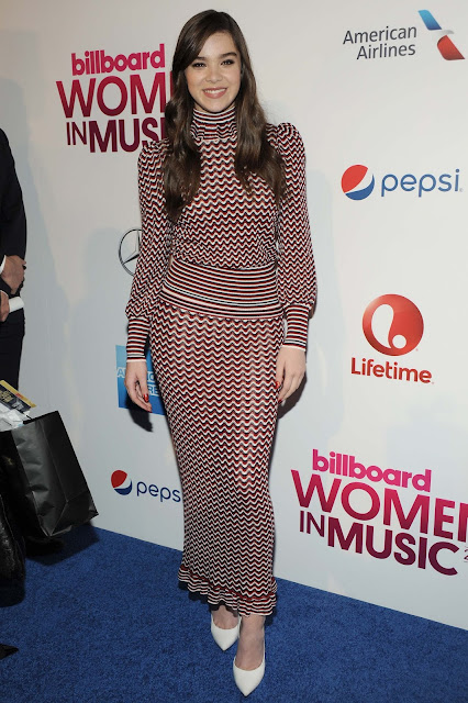 Actress, Singer, Model, @ Hailee Steinfeld - Billboard's Women In Music in NY