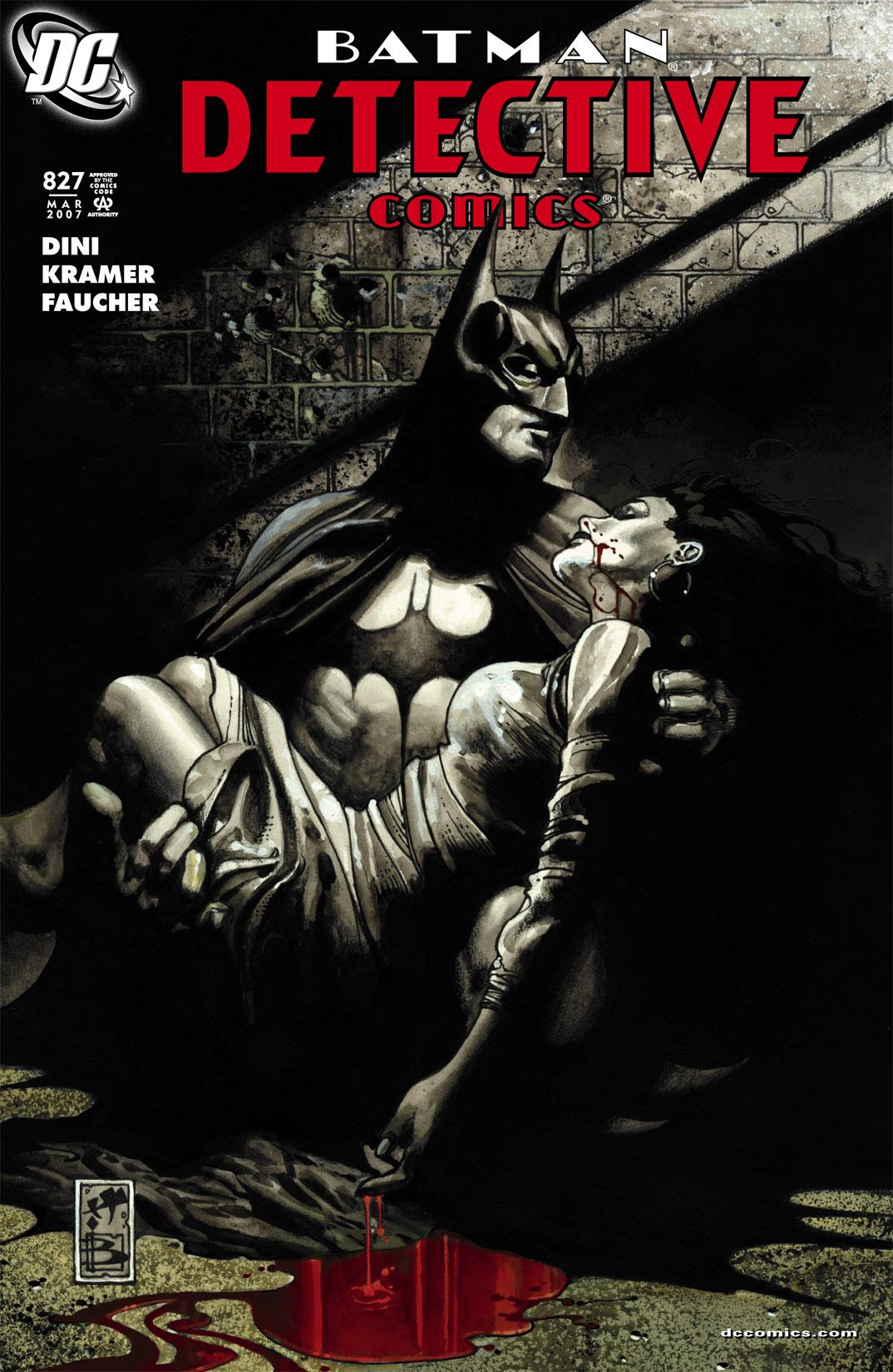 Detective Comics (1937) 827 Page 1