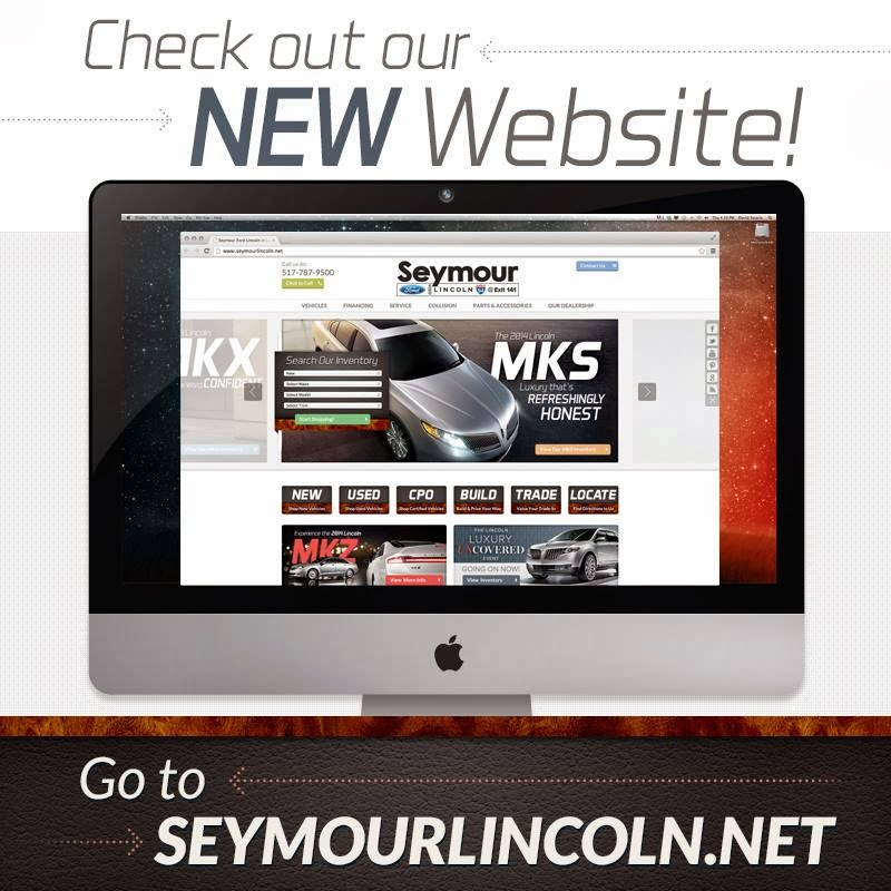SeymourLincoln.net Has a Brand-New Look