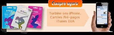 Cartões iTunes Gift Cards EUA