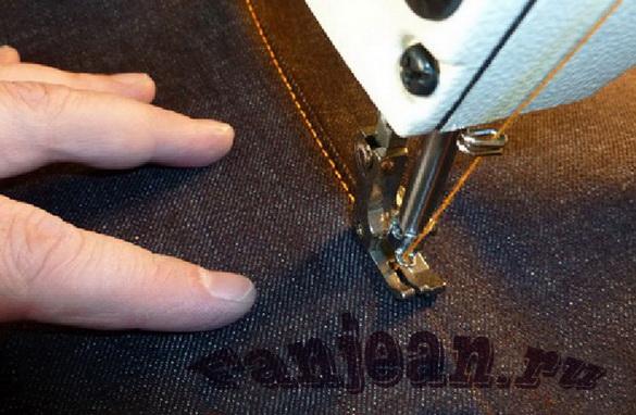 как сшить джинсы самому