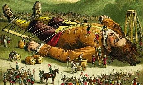 the satirical expositions in gullivers fourth voyage in the book We have chosen to focus on gulliver's slow turn against mankind as the main plot line of gulliver's travels gulliver's the denouement is the part of the book.