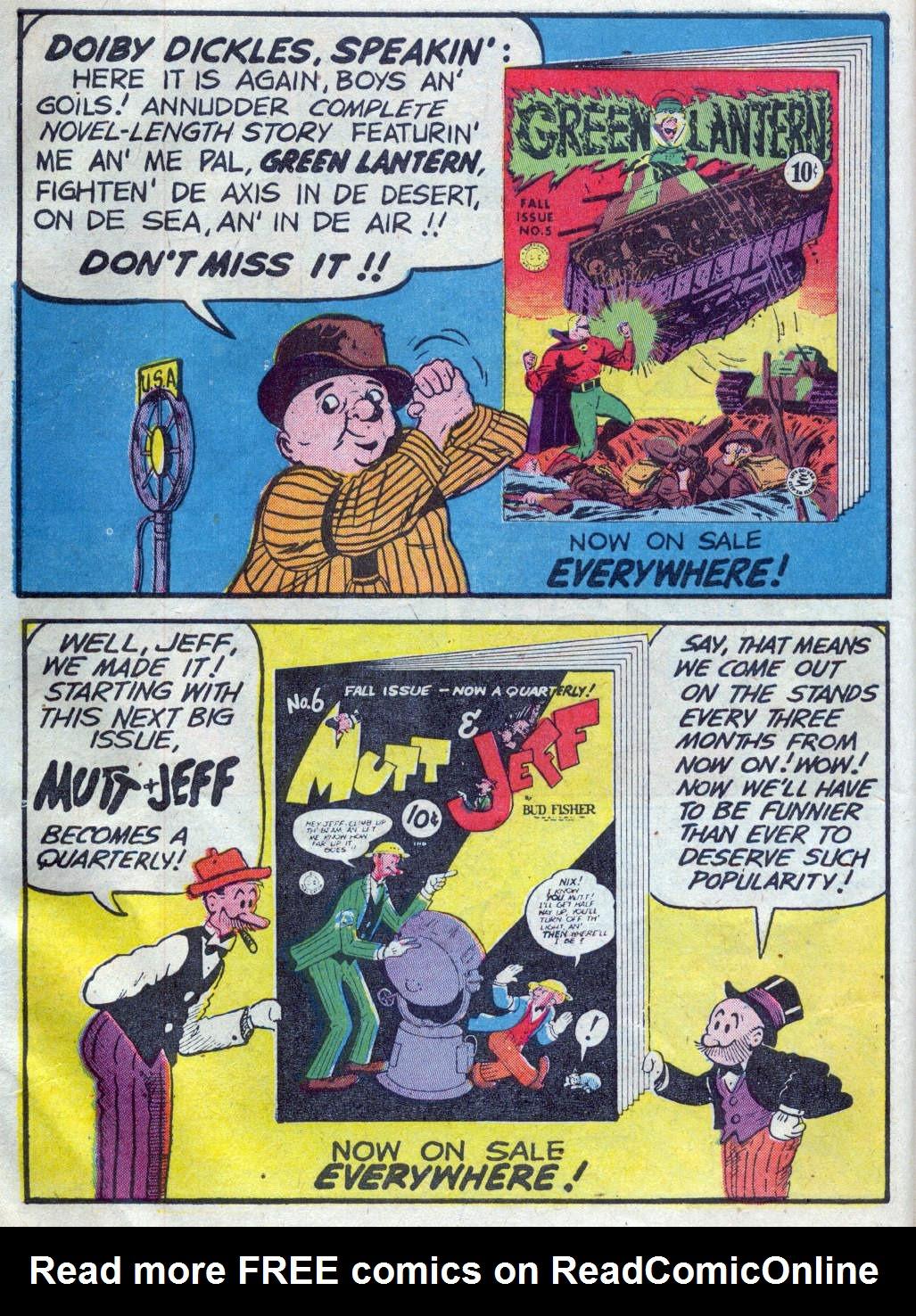 Read online All-American Comics (1939) comic -  Issue #45 - 16