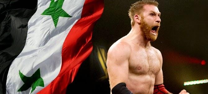 المصارع العربي سامي يريد يشارك