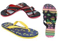 Buy Trendy Unisex Flip Flops at Flat 50% off & 25% Cashback :Buytoearn