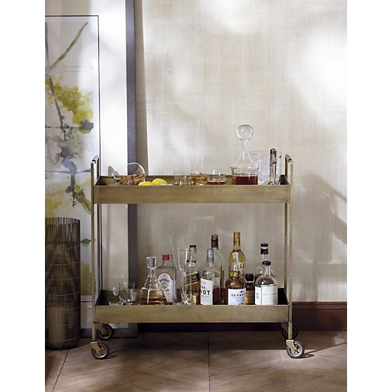 decorating inspiration bar carts driven by decor jules bar cart ballard designs