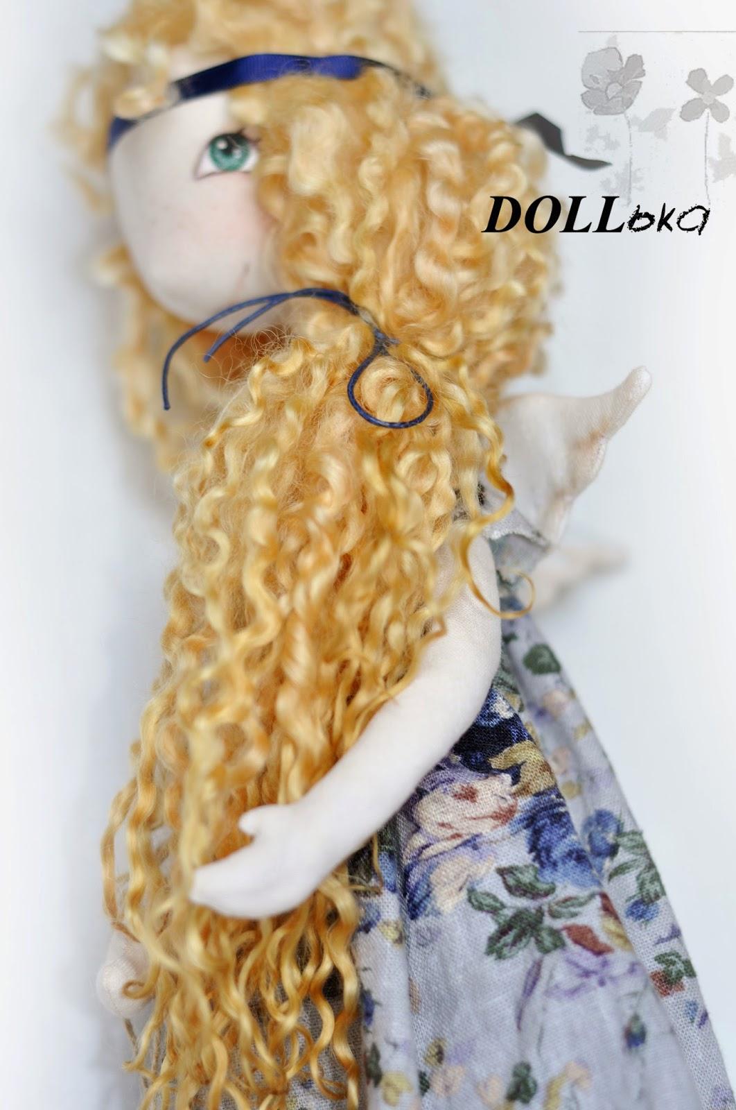 кукла ангел текстильная игрушка ручной работы