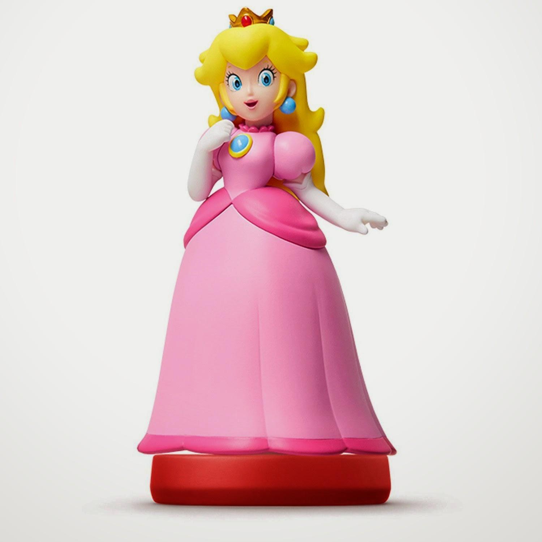 JUGUETES - NINTENDO Amiibo : Figura Princesa Peach   (20 Marzo 2015) | Videojuegos | Muñeco | Super Mario Collection