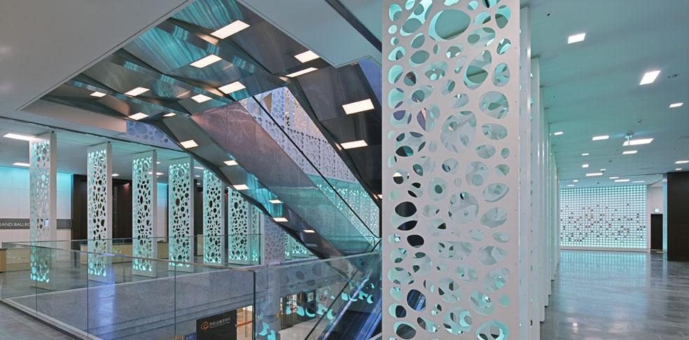 Imagine these convention centre interior design hanwha for Design hotel in seoul