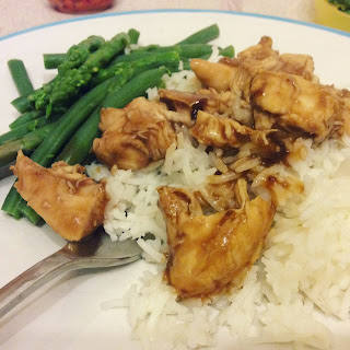 Post Christmas meals teriyaki chicken
