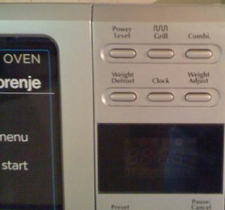 nuova collaborazione con gorenje - forno a microonde