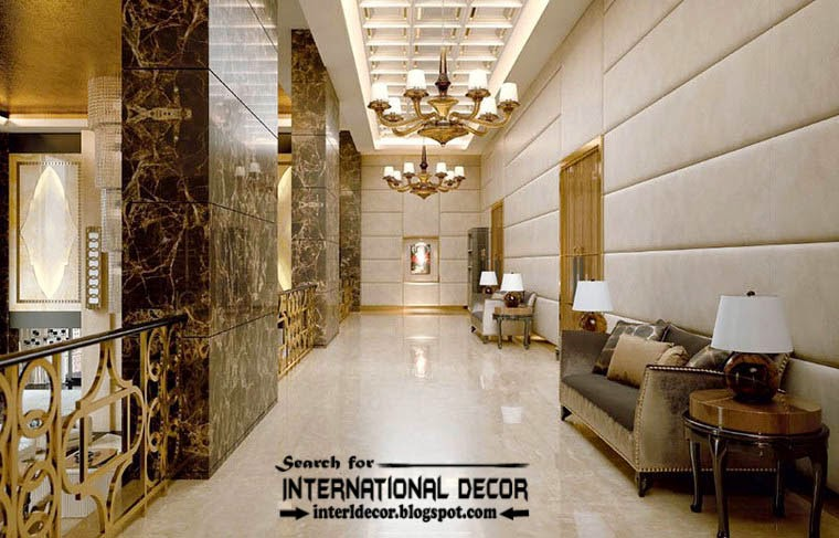 luxury classic public space interior design decor furniture ceiling
