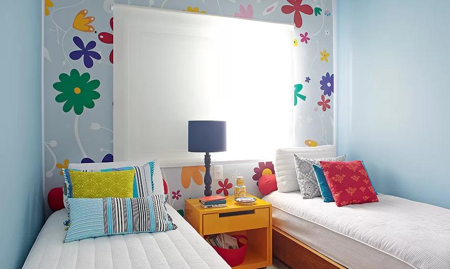 Quarto Infantil Decorado Com Adesivo ~ Esta casa de praia tem um quarto decorado especialmente para as