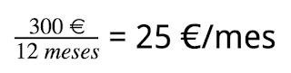 calculo del coste