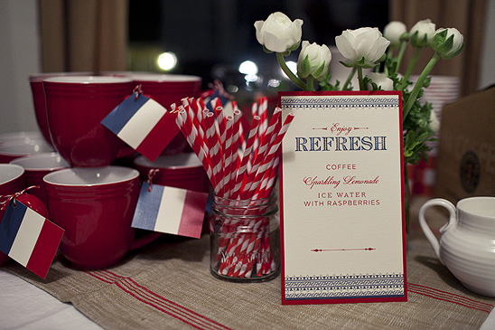 french themed baby shower