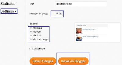 zemanta related blog post widget