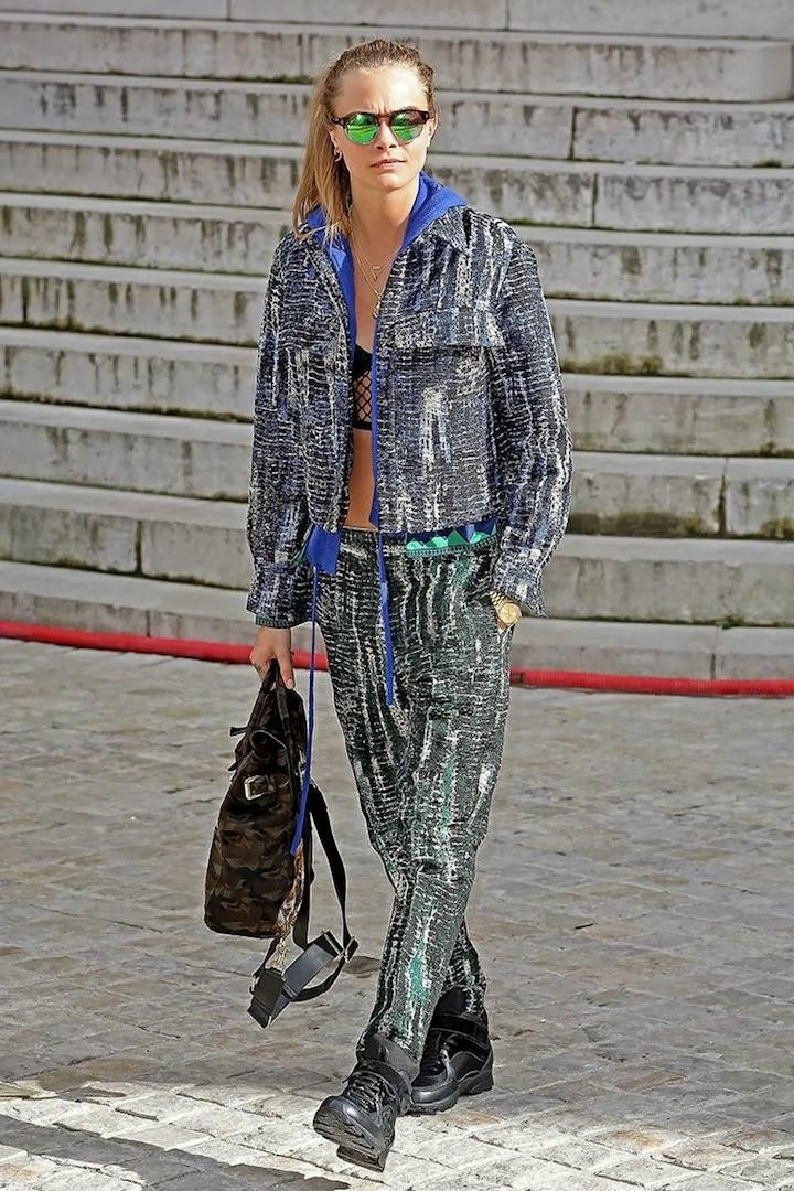 Cara Delevigne Vogue.com PFW 14