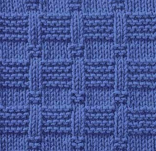 Knitting Edge Stitch Patterns : Knitting galore saturday stitch tile