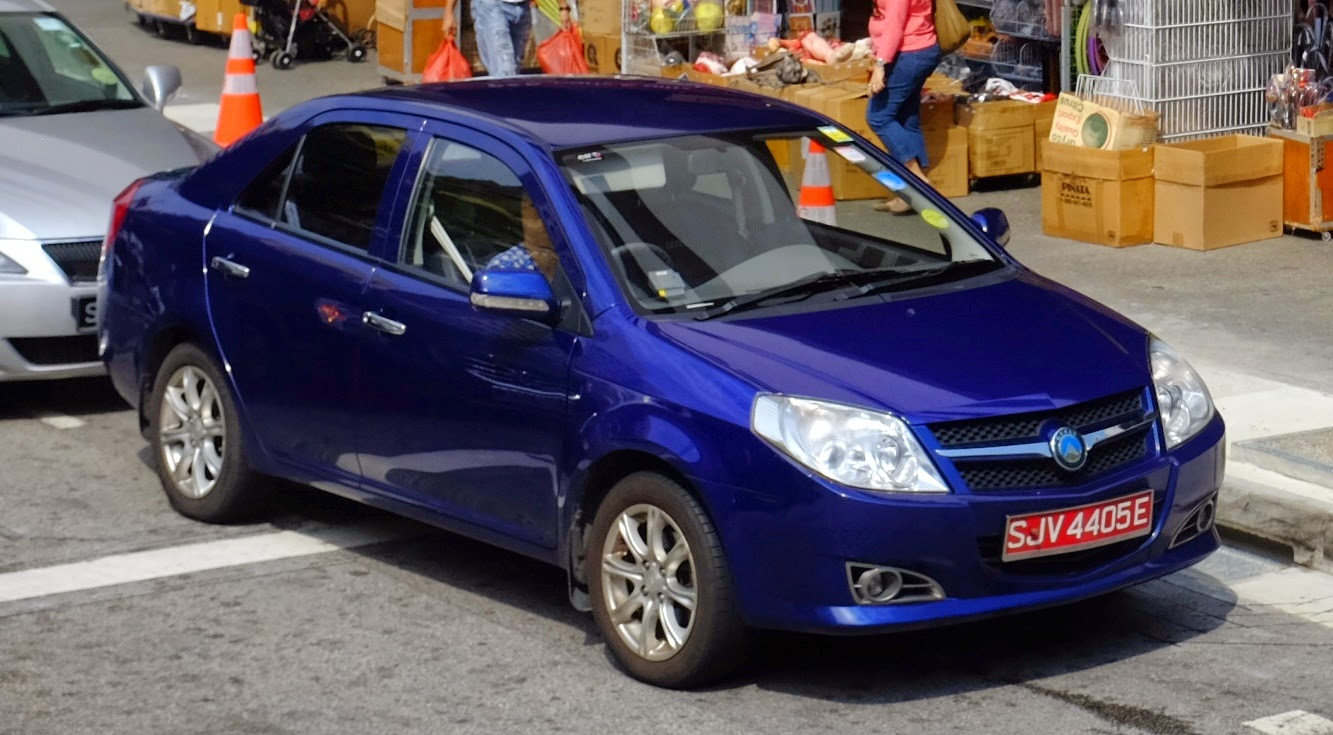 2009 Geely MK in Singapore