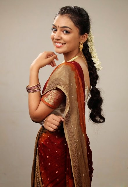 nazriya nazimin hot actress nazriya nazim in sarees