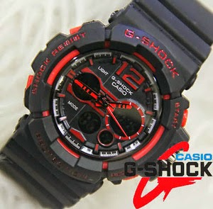 Jam Tangan G-Shock GAC-110 Black Red