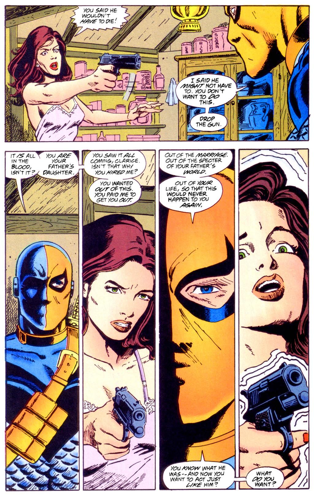 Deathstroke (1991) Issue #40 #45 - English 25