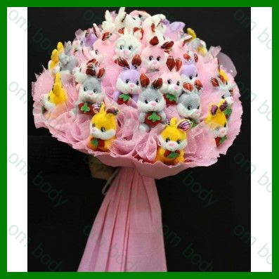 bouquet original, cadeau original naissance