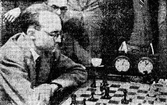 Foto de Lloréns en el Campeonato de Ajedrez de Catalunya 1946