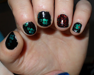 nageldesign galerie silvester - Silvester Feuerwerk 3 in 1 Naildesign