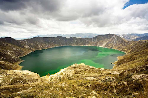 Lago do Vulcão Quilotoa – Equador
