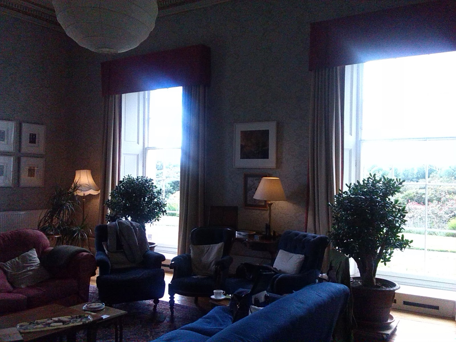 Sitting Room of Ballinkeele House