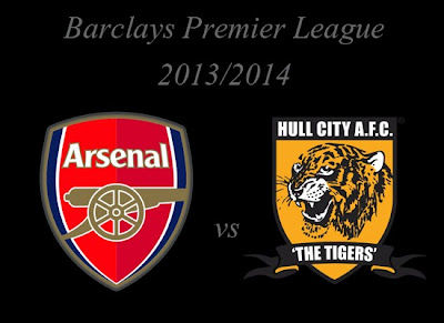 Arsenal vs Hull City Barlays Premier League 2013