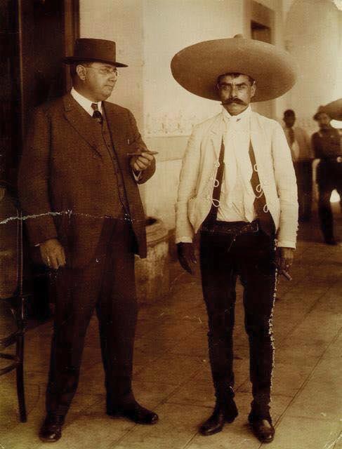 Zapata y sus compañeros