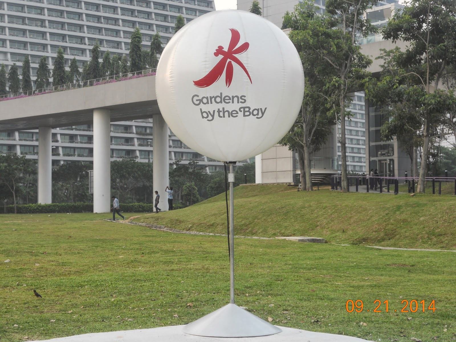 gardens by the bay one of the top place to visit in singapore you can go there by stopping at bayfront mrt station