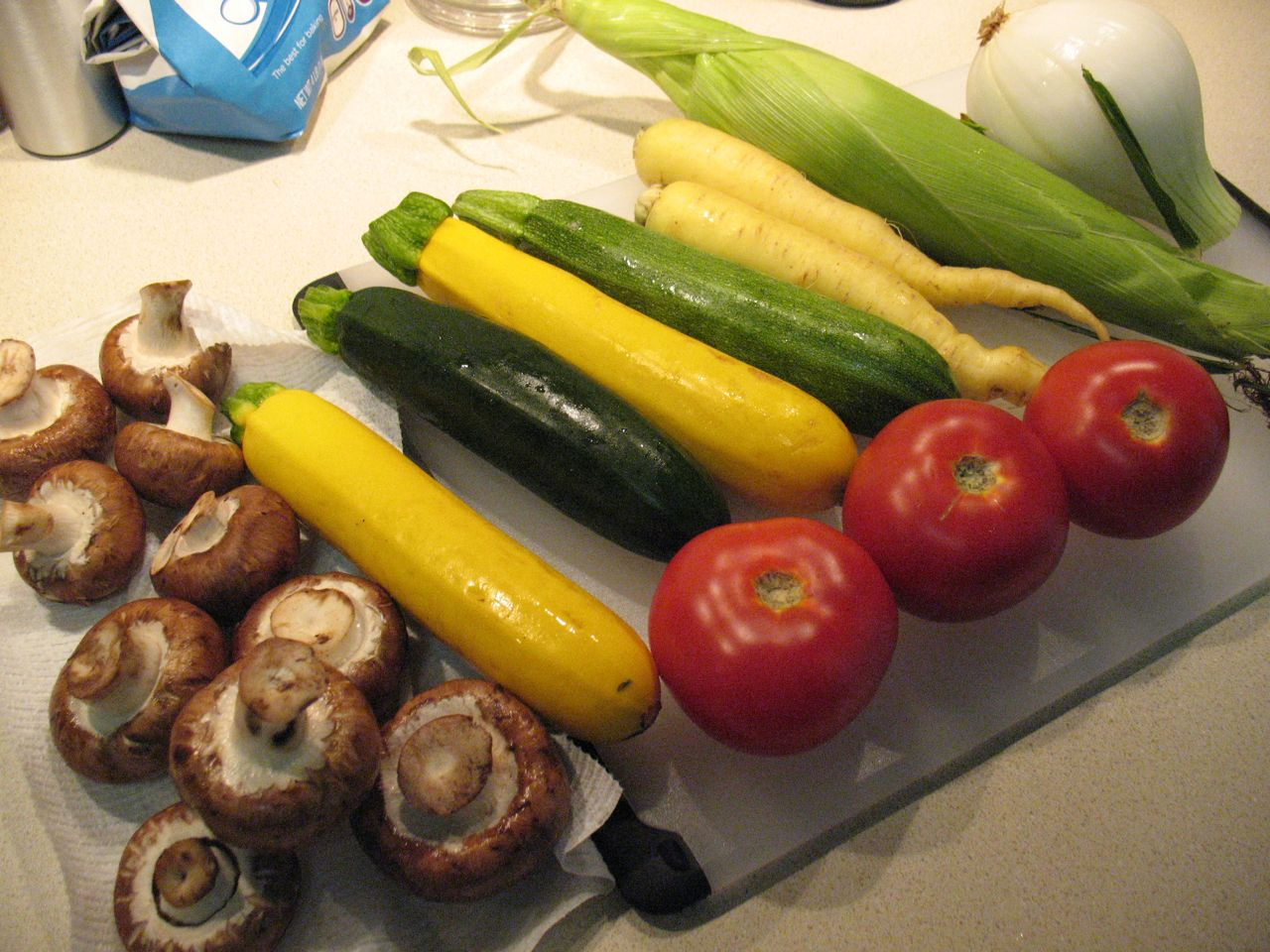 Cook In / Dine Out: Summer Vegetable Lasagna