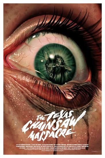 The Texas Chainsaw Massacre Standard Edition Screen Print by Jason Edmiston