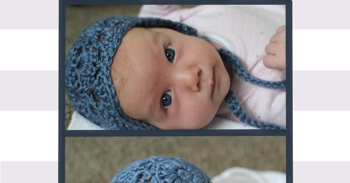 Bloggity Blog Baby Bonnet Crochet Pattern Free