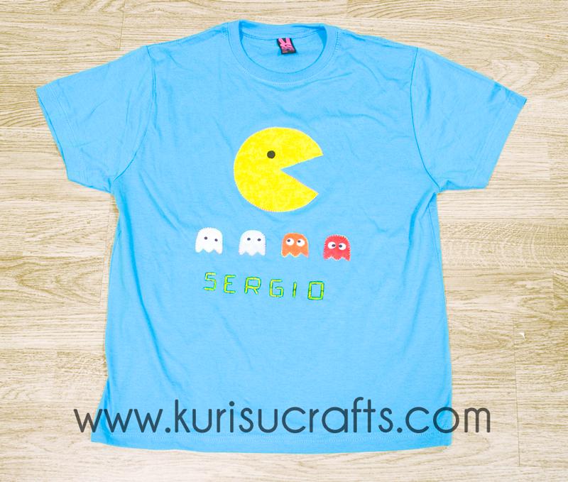 Camiseta Comecocos Kurisu Crafts para niño