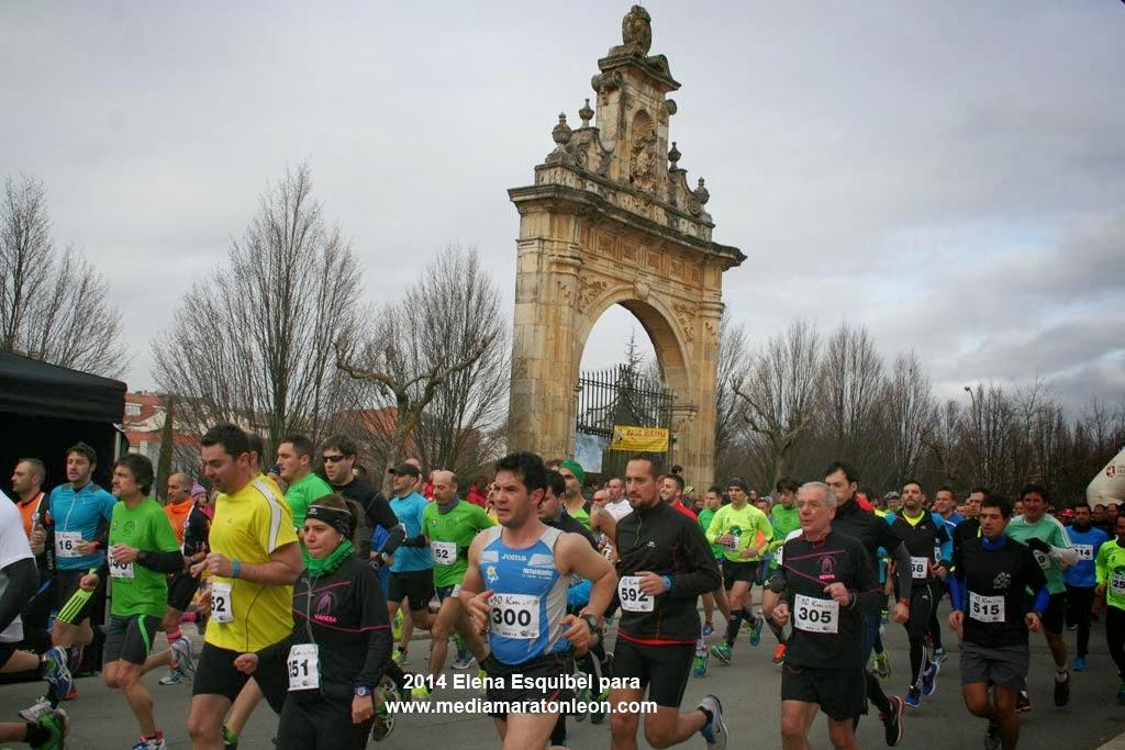 Fotos 10 km La Virgen del Camino 2014